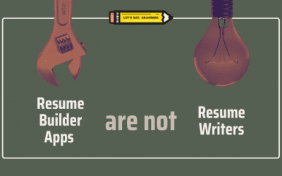 Why an Online Resume Builder Can't Compare to a Human Resume Writer